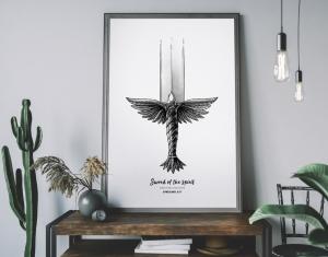 Sword of The Spirit Print